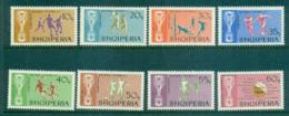 Albania 1966 World Cup Soccer MUH Lot69565 - Albania