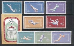 Albania 1973 World Cup Soccer Munich + MS MUH - Albania