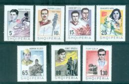 Albania 1969 Heroes & Heroines MUH Lot69663 - Albania