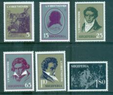 Albania 1970 Ludwig Van Beethoven MUH Lot69719 - Albania