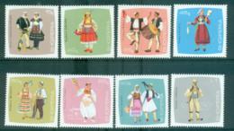 Albania 1967 Regional Costumes MUH Lot69604 - Albania