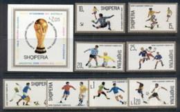 Albania 1974 World Cup Soccer Munich + MS MUH - Albania