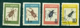 Albania 1963 Beetles MH/CTO Lot31039 - Albania