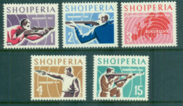 Albania 1965 European Shooting Championships MUH Lot69520 - Albania