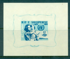 Albania 1959 UN Declaration Of Human Rights MS MUH Lot69440 - Albania