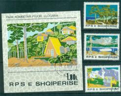 Albania 1980 National Parks + MS CTO Lot69877 - Albania
