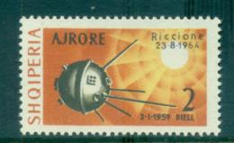 Albania 1964 Space Exhibition, Riccione Opt On 2l MUH Lot69501 - Albania