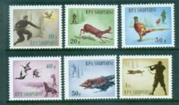 Albania 1965 Hunting MUH Lot69538 - Albania