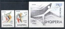 Albania 1995 Europa, Peace & Freedom + MS MUH - Albania
