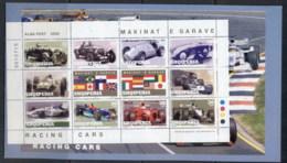 Albania 2000 Grand Prix Racing Booklet MUH - Albania