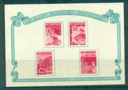 Albania 1959 Albania's Libertaion Anniv. MS MUH Lot69437 - Albania