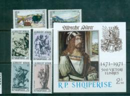 Albania 1971 Albrecht Durer + MS MUH Lot69729 - Albania