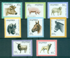 Albania 1966 Farm, Domestic Animals MUH Lot69552 - Albania