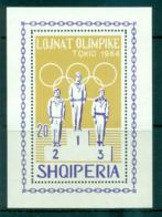 Albania 1964 Tokyo Olympcs MS MUH Lot69502 - Albania