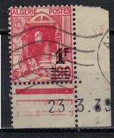 ALGERIE        N°  YVERT    158 A   (1)           OBLITERE       ( O   2/34 ) - Usati