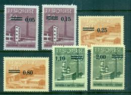 Albania 1965 Surcharges MUH Lot69532 - Albania
