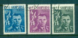 Albania 1962 Space, Yuri Gagarin, Vostok 1 CTO Lot69462 - Albania