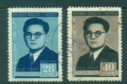 Albania 1947 Quemal Stafa 28,40q, (tones) FU Lot31010 - Albania