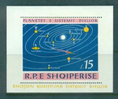 Albania 1964 Planets, Space MS MUH Lot69510 - Albania