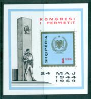Albania 1969 Anti Faschist Congress MS MUH Lot69673 - Albania