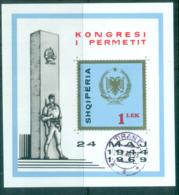Albania 1969 Anti Faschist Congress MS CTO Lot69674 - Albania
