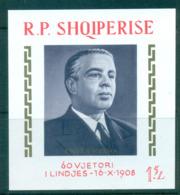 Albania 1968 Enver Hoxha MS MUH Lot69654 - Albania