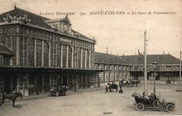 SAINT ETIENNE -42- LA GARE DE CHATEAUROUX - Saint Etienne