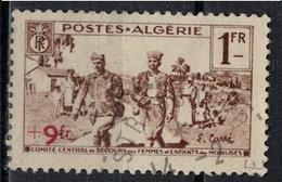 ALGERIE        N°  YVERT    162          OBLITERE       ( O   2/37 ) - Algérie (1924-1962)