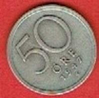 SWEDEN #  50 ØRE FROM 1947 - Suède