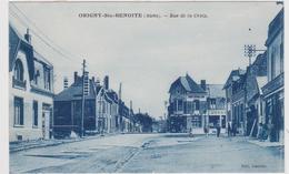 CARTE POSTALE    ORIGNY Ste BENOITE 02  Rue De La Croix - France