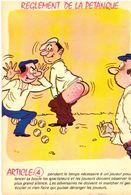 Réglement De La Pétanque Article 4r    ... Illustrateur Inconnu - Pétanque