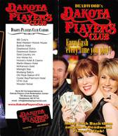 Deadwood Dakota Players Brochure With Club Rules But Missing The Application Form - Casino Cards