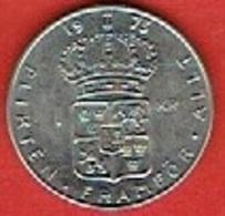SWEDEN #  1 KRONE FROM 1973 - Suède