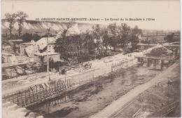 CARTE POSTALE    ORIGNY SAINTE BENOITE 02  Le Canal De La Sambre à L'Oise - France