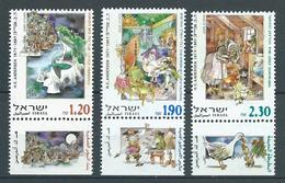ISRAËL 2000 . N°s 1483 , 1484 Et 1485 Avec Tabs. Neufs ** (MNH) - Nuovi (con Tab)