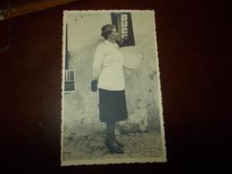 B714  Fascismo Donna In Posa Cm14x9 Stemma Duce - Storia
