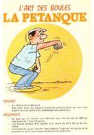 L'art Des Boules La Pétanque ... Illustrateur Inconnu - Pétanque