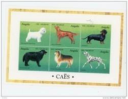 Angola 1998-Chiens, Terrier,setter,dalmatien. ..YT 1151/6***MNH - Angola
