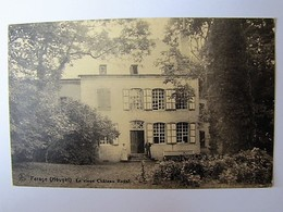 BELGIQUE - NAMUR - HOUYET - Ferage - Le Vieux Château Royal - Houyet