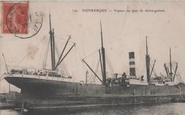 DUNKERQUE - Vapeur Au Quai De Déchargement - - Dunkerque