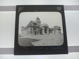 BRUSSELS BRUSSEL BELGIQUE BELGIE PALACE OF JUSTICE  JUSTITIEPALEIS   Plaque De Verre GLASS SLIDE  CIRCA EARLY 1900 - Diapositivas De Vidrio