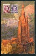 Belgien / 1928 / Color-AK (Aquarelle) Mit Frankatur A. Bildseite, In Die Schweiz (7158) - Belgien