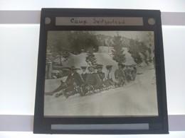 CAUX VAUD SWISS SWITZERLAND  Plaque De Verre GLASS SLIDE  CIRCA EARLY 1900 - Diapositivas De Vidrio