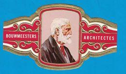 1 BAGUE DE CIGARE GRAND FORMAT BOUWMEESTERS ARCHITECTES ANTONIO GAUDI SPANJE ESPAGNE  (  119 MM ) - Bagues De Cigares