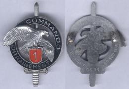 Insigne Du Centre D'Entrainement Commando N° 1 - Heer