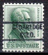 USA Precancel Vorausentwertung Preo, Locals Colorado, Cedaredge 821 - Vereinigte Staaten