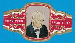 1 BAGUE DE CIGARE GRAND FORMAT BOUWMEESTERS ARCHITECTES LOUIS L. KAHN  U.S.A   E.U.A.  (  119 MM ) - Bagues De Cigares