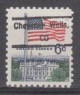 USA Precancel Vorausentwertung Preo, Locals Colorado, Cheyenne Wells 833 - Vereinigte Staaten