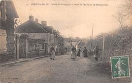 ¤¤   -   CERISY-la-SALLE   -  Sortie Du Bourg Par La Route De Genilly Et De Montpinchon  -   ¤¤ - Autres Communes
