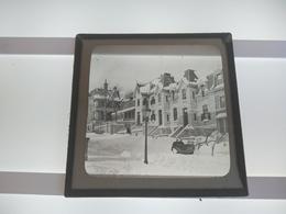 HORSE SLEDGE  CANADA?  Plaque De Verre GLASS SLIDE  CIRCA EARLY 1900 - Diapositivas De Vidrio